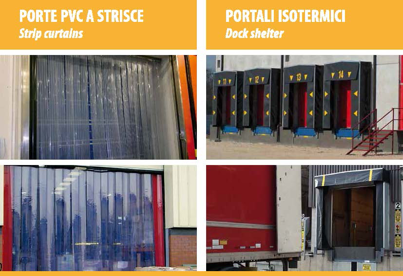 Porte PVC e PORTALI
